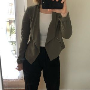 H&M Jackets & Coats - 🔥2 for $25 Olive Green H&M draped blazer